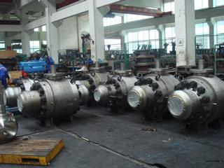 trunnion valves Global Valve & Controls