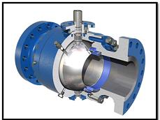 Trunnion Mounted Ball Valves Building a Pipeline