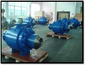 Trunnion Ball Valves Pipeline Components