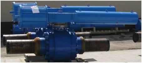 Trunnion Ball Valves 40 New Pipeline Projects planned for 2013 and 2014