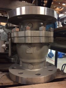 "GVC 4"" #300 API 6D Valve, Stainless Steel Flanged Ball Valves"