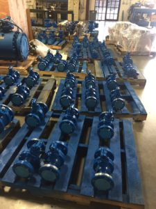 "Flanged Ball Valves 2"" and 3"" ANSI 600"