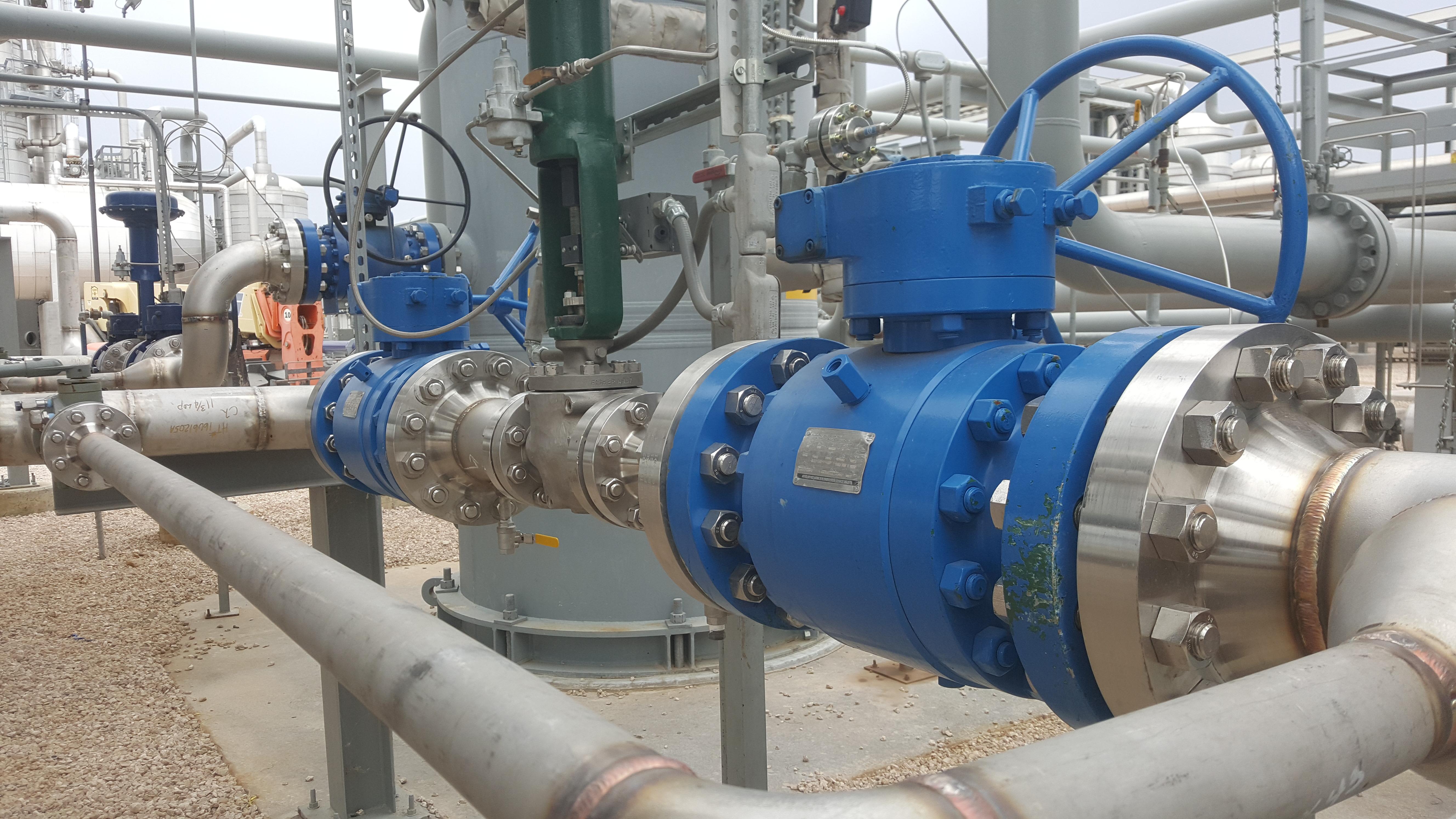Natural Gas Ball Valve