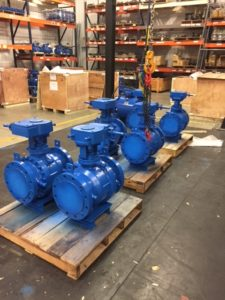 Trunnion Ball Valves, A216 WCB, Pipeline Ball Valves, API6D Valves