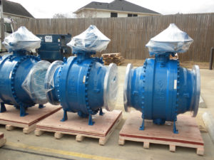 3pc Trunnion Ball Valves, API 6D Valves, Pipeline Ball valves, Automated Ball valves