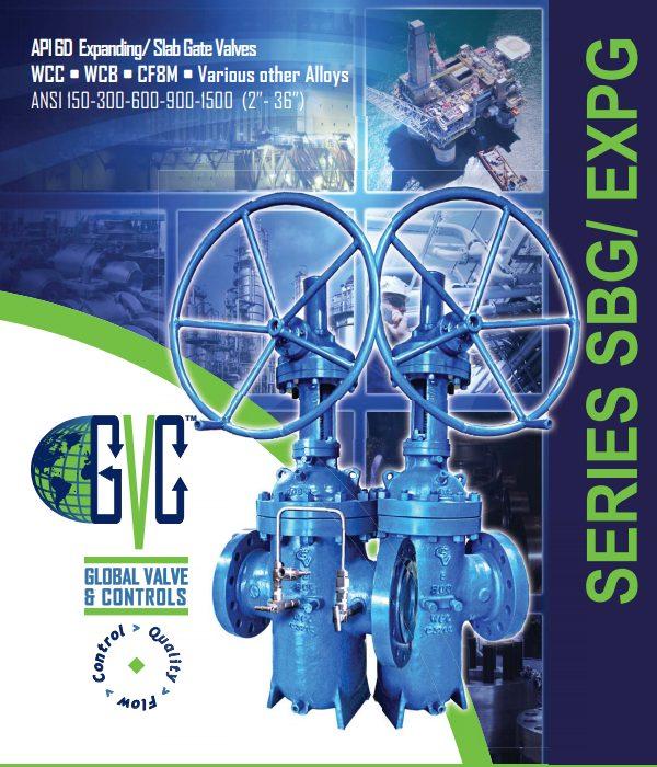 EXPG-SBG Thru Conduit Expanding Gate Valve - API 6D expanding gate valves