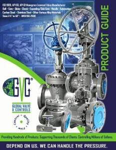 GVC - Global Valve and Controls - Product_Guide