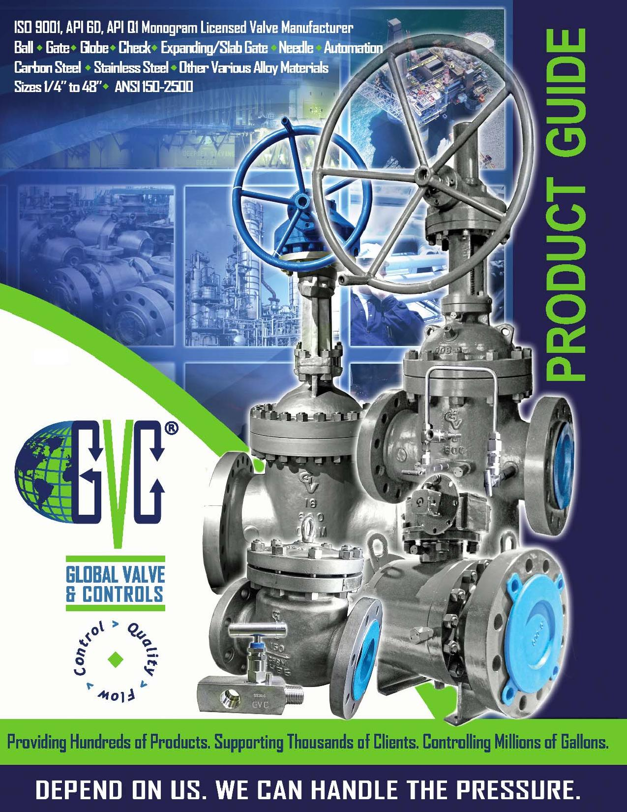 GVC - Global Valve & Controls - Product_Guide