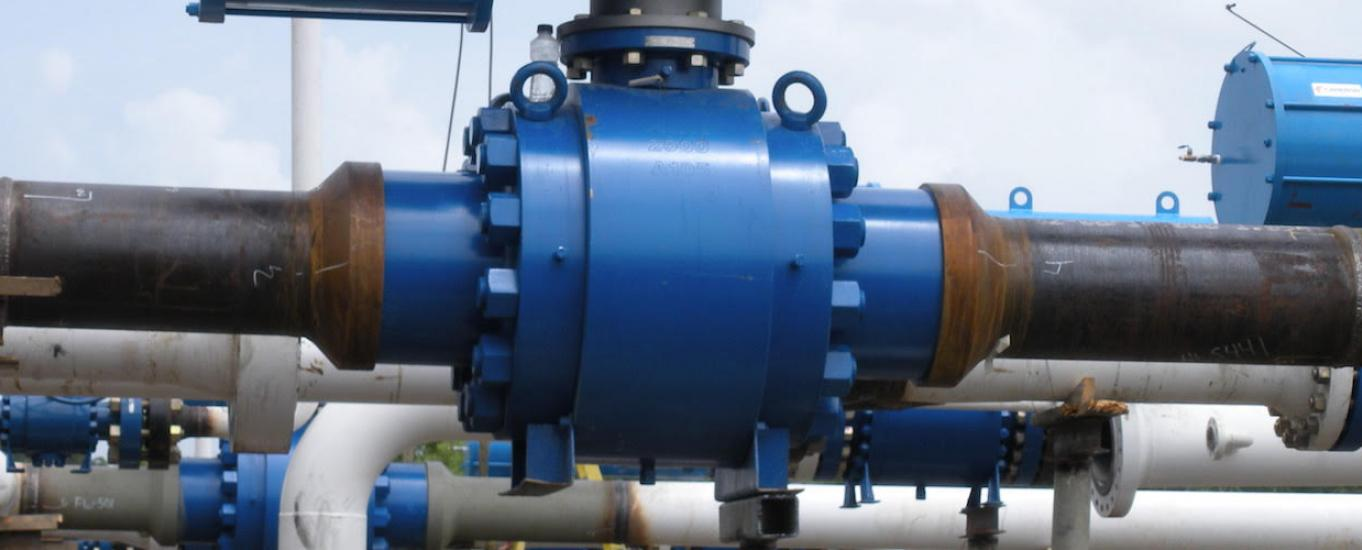20 inch API 6D Trunnion Ball Valve - Global Valve & Controls - GVC